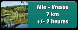 Traject van Alle tot Vresse 7 km