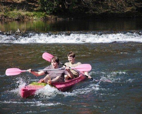 Canoe Kayak 2 personnes a Alle sur Semois en Ardenne Belgique