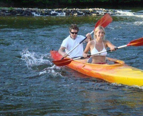 Kayak 2 personnes sur la Semois a Alle