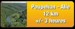 Traject van Poupehan tot Alle 12 km